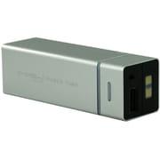 SP5500-SL [MIPOW マイポー 角チューブ型モバイルバッテリー 5500mAh USB出力:2ポート 最大合計:1A PowerTube 5500シリーズ シルバー]