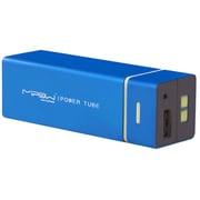 SP5500-LB [MIPOW マイポー 角チューブ型モバイルバッテリー 5500mAh USB出力:2ポート 最大合計:1A PowerTube 5500シリーズ ライトブルー]