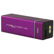 SP5500-PL [MIPOW マイポー 角チューブ型モバイルバッテリー 5500mAh USB出力:2ポート 最大合計:1A PowerTube 5500シリーズ パープル]