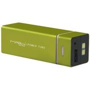 SP5500-LG [MIPOW マイポー 角チューブ型モバイルバッテリー 5500mAh USB出力:2ポート 最大合計:1A PowerTube 5500シリーズ ライムグリーン]