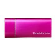 HYPERJUICE-NANO-PK HyperJuice Nano 1800mAh [HyperJuice Nano 1800mAh Pink]