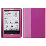 PRS-350KIT PP [Reader Pocket Edition<リーダーポケットエディション> バリューパック 5型電子書籍リーダー ピンク+専用ブックカバー「PRSA-SC35 P ピンク」]