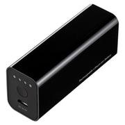 BTL-RDC5BK  USB出力付ポータブルバッテリー充電器 [2600mAh]