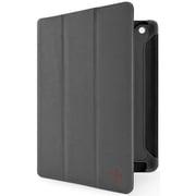 F8N784qeC01 [新しいiPad対応 トライフォールド フォリオ スタンド兼用 Gravel/Blacktop/Red Carpet]