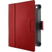 F8N757qeC01 [新しいiPad対応 ヴァーブレザーフォリオ スタンド兼用 Red Carpet/Gravel]