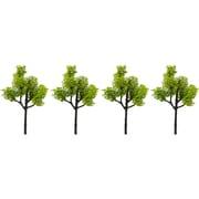 Nゲージ 8184 常緑樹 ライトグリーン 4本セット