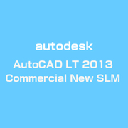 AutoCAD LT 2013 Commercial New SLM [Windowsソフト]