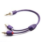 ID-35R/1.2 [オーディオグレード i-デバイスケーブル 3.5ステレオミニジャック-RCA 1.2m]