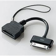 MPA-AUDBK [au携帯電話用端子⇔iPhoneDock充電専用コネクタ変換アダプタ ケーブルタイプ ブラック]