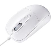 MA-122HW [USB接続 有線マウス 静音タイプ ホワイト]