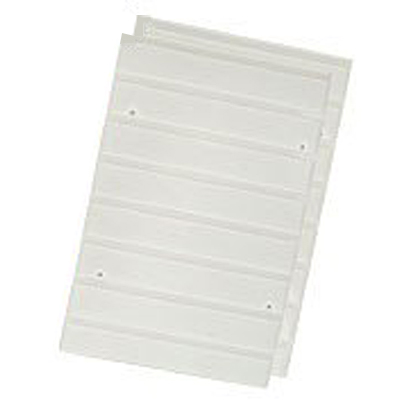 CXR-27 ホワイト [カラーボックス用レールボード 2枚1組]