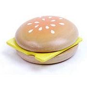G05-1098 [ウッディプッディ 木製ままごと パン&チーズ 3歳くらい~]