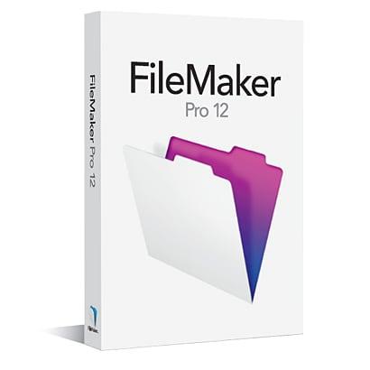 FileMaker Pro 12 Single User License [Windows&Macソフト]