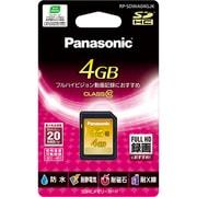 RP-SDWA04GJK [4GB SDHCメモリーカード CLASS10対応]