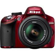 D3200 レンズキット レッド [ボディ+交換レンズ「AF-S DX NIKKOR 18-55mm f/3.5-5.6G VR」]