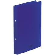 F5005-11 [AQUA DROPs リングファイル<ツイストリング> A4 藍]