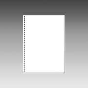 N1600P [ツイストリングノート 専用リーフ B5 無地]