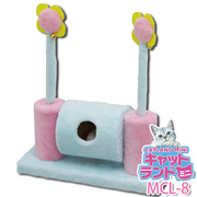 MCL-8 [ミニキャットランド くるくるネコパンチダブルS ブルー/ピンク]