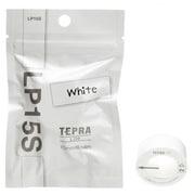 LP15S [テプラLiteテープ 15mm幅 4m巻 ホワイト]