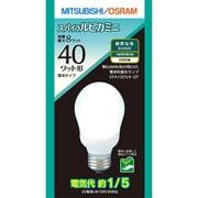 EFA10EN/8.SP [電球形蛍光灯 スパイラルピカミニ E26口金 3波長形昼白色 A10形(8W)]