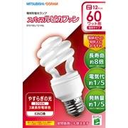 EFD15EL/12・HSL [電球形蛍光灯 スパイラルピカファン E26口金 3波長形電球色 D15形(12W)]