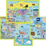 大きな世界地図 [パズル]