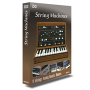 UVI #17 String Machines [ソフトウェアシンセサイザー]