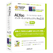 ALYac Internet Security Pro2.5(1年/3PC) [Windows]