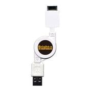 BS-SWREEL/WH [WM-PORT搭載ウォークマン用 リール式USBケーブル ホワイト]