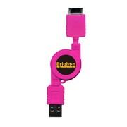 BS-SWREEL/P [WM-PORT搭載ウォークマン用 リール式USBケーブル ピンク]