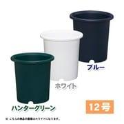 12号WH ディーポット [どっしりした形状の深型の鉢]