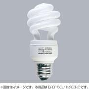 EFD15EL/12・EB・Z [電球形蛍光灯 スパイラルピカファンプラス E26口金 3波長形電球色 D15形(12W)]