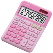 EL-M334PX [カラー・デザイン電卓 ミニナイスサイズタイプ 10桁 ストロベリーチーズケーキ/ピンク系]