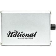 THE NATIONAL AMP/SIL [ポータブルヘッドホンアンプ シルバー]