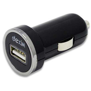 DCA295-B [Mini Car Charger Black color for iPhone/iPad/iPod and most smartphones]