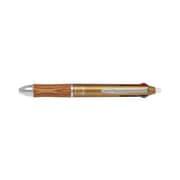 LKFB-2SEF-BN [フリクションボール3 ウッド 黒・赤・青インクボールペン0.5mm ブラウン]
