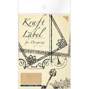 08901■Kraft Label for Designingstamp  [Kraft Label]
