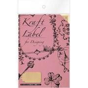 08903■Kraft Label for Designingtag S [Kraft Label]