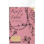 08904■Kraft Label for Designingtag L [Kraft Label]