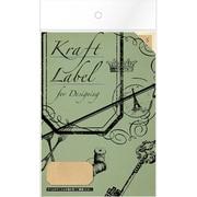 08907■Kraft Label for Designingsquare  [Kraft Label]