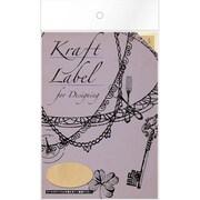 08910■Kraft Label for Designingoval L [Kraft Label]