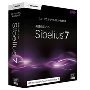 Sibelius 7 plus PhotoScore and AudioScore [楽譜作成ソフトウェアパック]