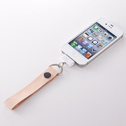 TR-LSIP-TN [Leather Dock Strap for iPhone Dockコネクター用レザーストラップ タン]