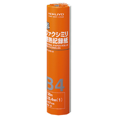 R2F-257B-30N [ファクシミリ感熱記録紙]