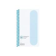 タン-45B [単語帳(プラスチックスパイラル)手帳サイズスパイラルとじ60枚青]