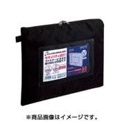 クケ-2914ND [事務用連絡ケース シャトルバッグ ナイロン A4 黒]