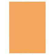 KPC-CA4-15 [色上質厚口 50枚 90.7g オレンジ]