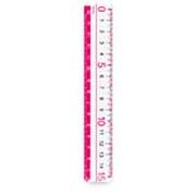 AJR125P [カラー定規 15cm ピンク]