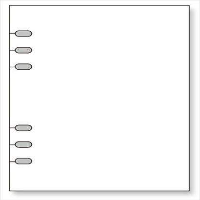 WWAR401 [キーワードA5リフィル ガイドプロテクター]
