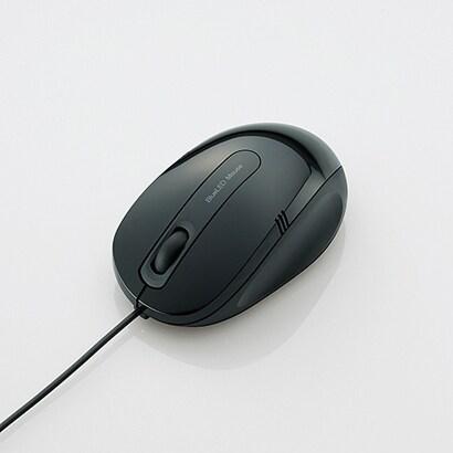 M-BL17UBBK [BlueLEDマウス 有線 3ボタン Mサイズ]